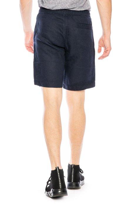 Orlebar Brown Harton Linen Shorts - Navy