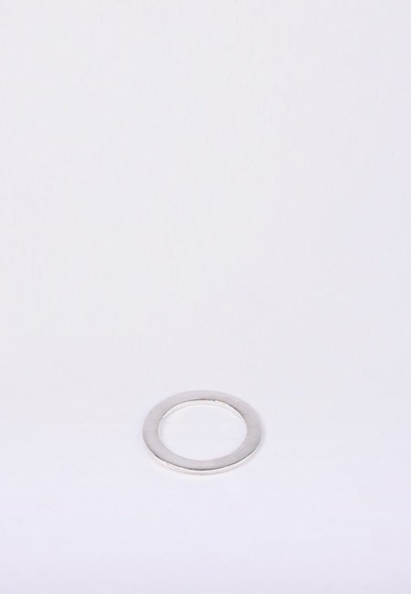 Newend Flat Ring -  Silver