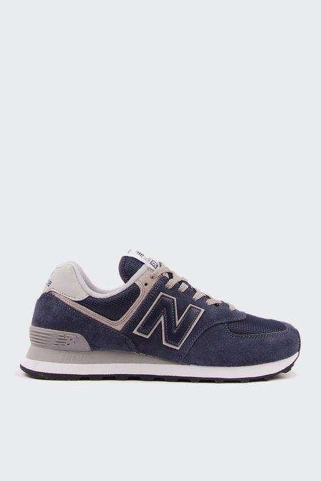 New Balance 574 Classic - Navy/White