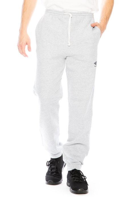 FLOWERS Logo Gym Sweatpants - GREY