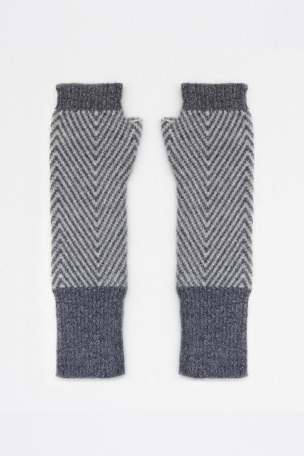 Micaela Greg Zig Zag Fingerless Gloves