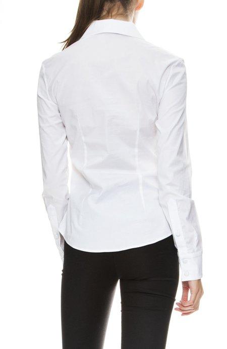 Adam Selman Shrunken Shirt - white
