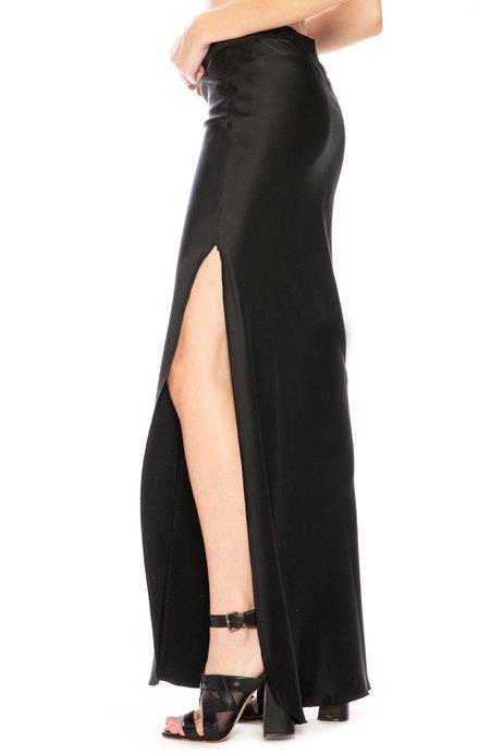 Nili Lotan Maya Maxi Skirt - Black