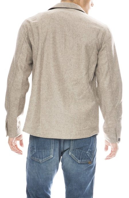 Billy Reid Mo Shirt Jacket - Sand