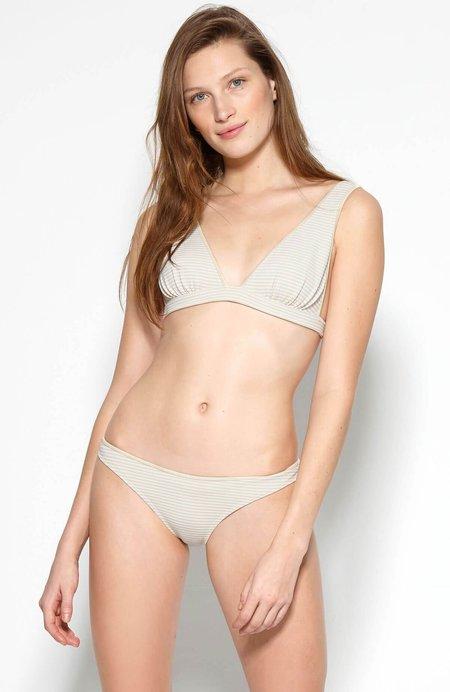 Marysia Nassau Bikini Top - Seta/Panna