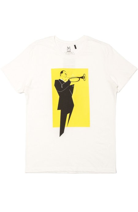 TEE LIBRARY Put His Soul T-Shirt - White