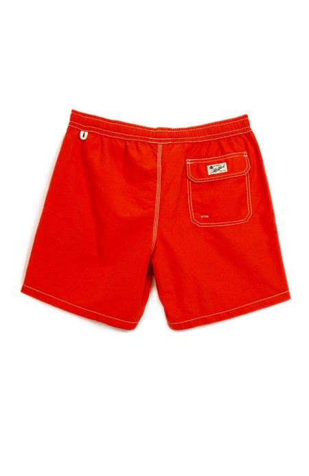 Hartford Regular Fit Swim Shorts - Tomato