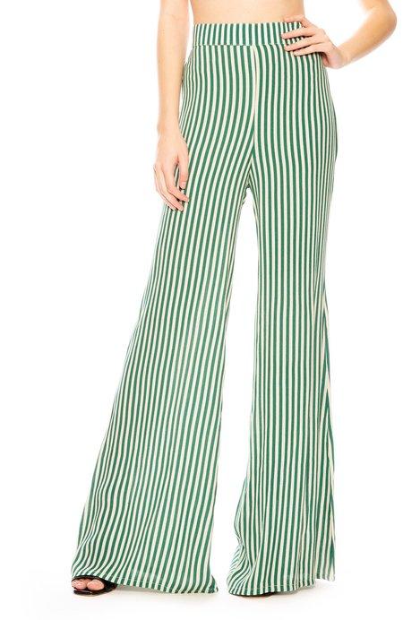 Flynn Skye Ride or Die Pant - Green Stripe