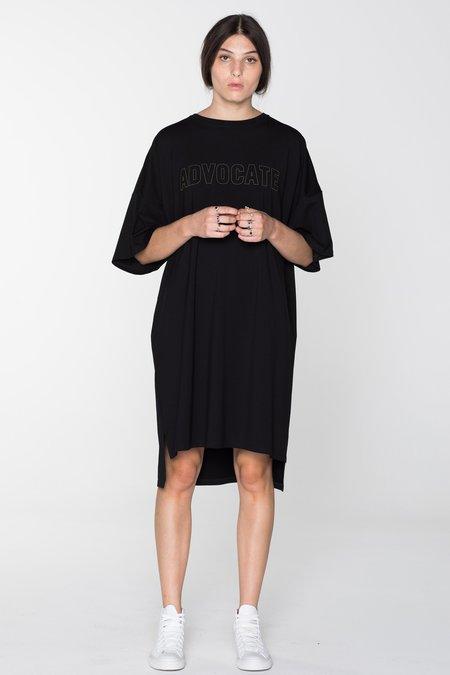 SALASAI ADVOCATE TEE DRESS - BLACK