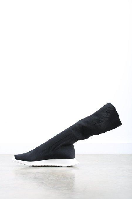 Rick Owens Drkshdw  Runner  Stretch Sneaker - Black