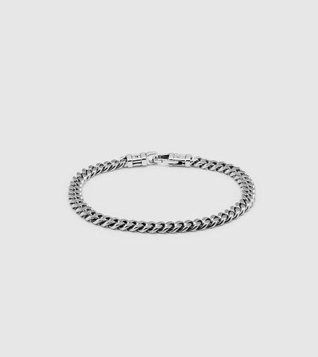 Tom Wood Large Width Curb Bracelet - sterling silver