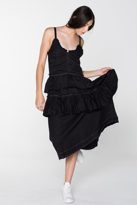 SALASAI WILDLIFE DRESS - BLACK