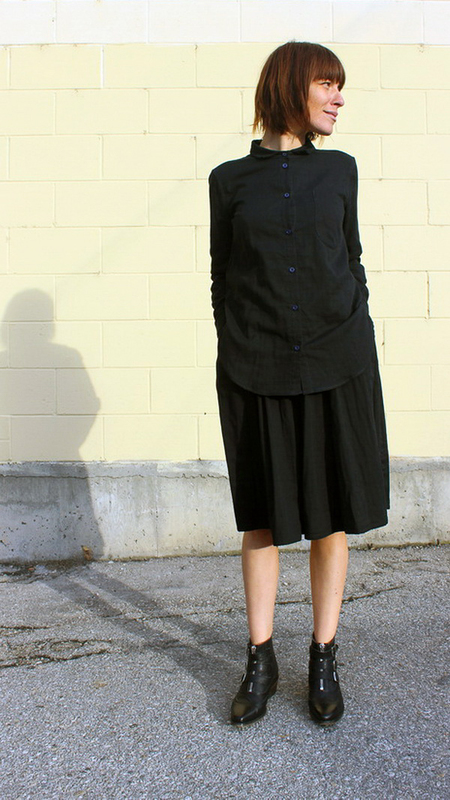 wrk-shp draft skirt w/ cord