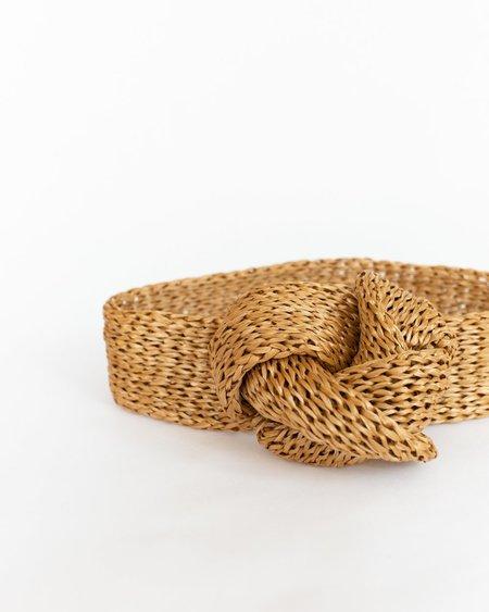 Reinhard Plank Rox Straw Headband - Camel