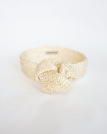 Reinhard Plank Rox Straw Headband -  White