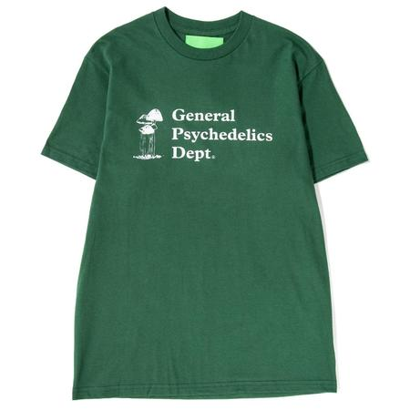 Mister Green General Psychedelics T-shirt - Forest