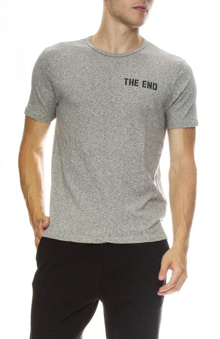 Hiro Clark The End Tee - Gray