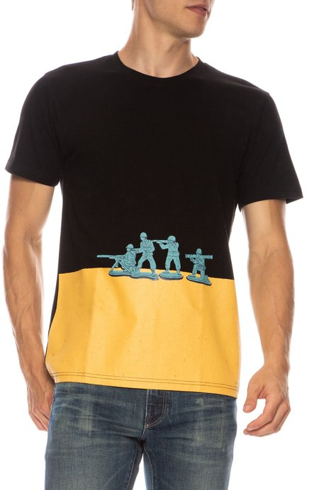 TEE LIBRARY Toy Solider T-Shirt - BLACK