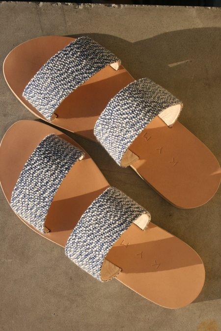 KYMA Giaros Sandals - Blue Speckle