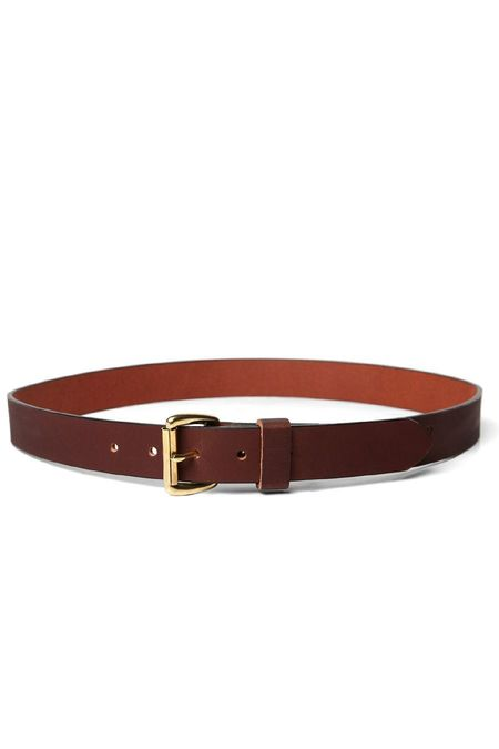 Bridge & Burn Leather Belt - Brown