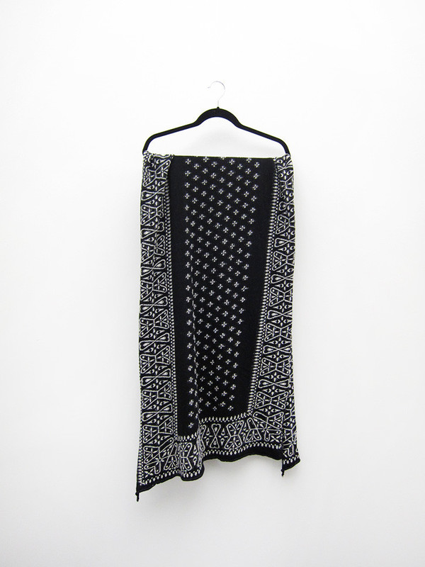 Kapital Compressed Wool Scarf | Dragonfly
