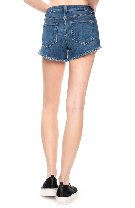 L'agence Zoe Distressed Perfect Fit Shorts - Authentique