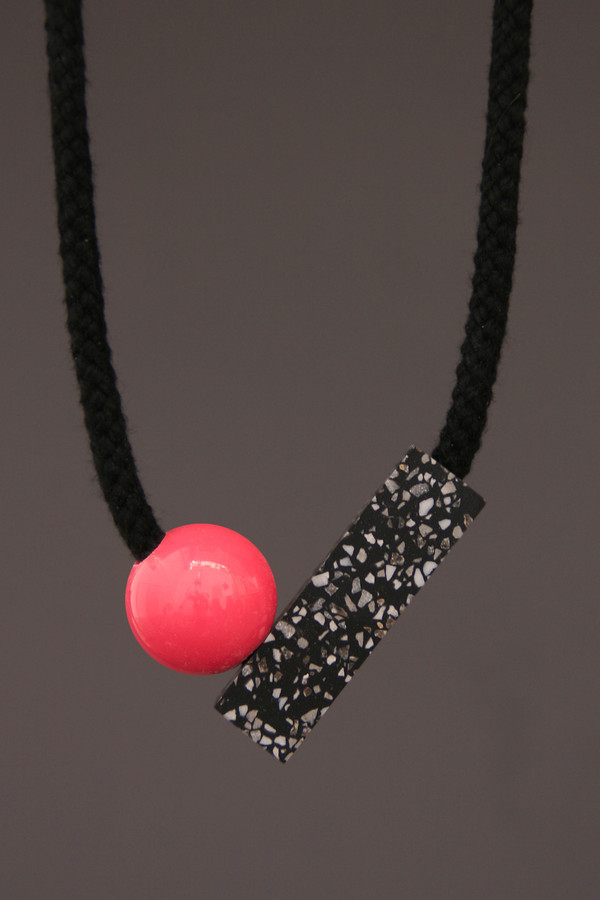 One We Made Earlier Ad Necklace Pink
