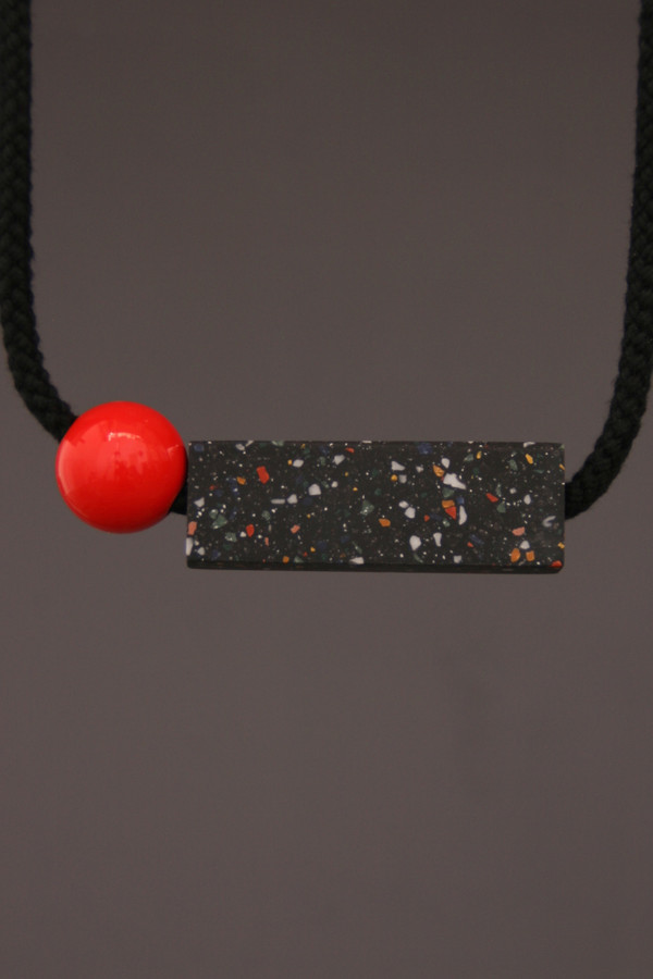 One We Made Earlier Stella Necklace Red