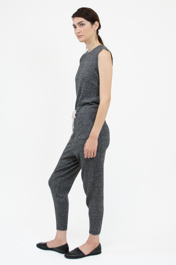 Micaela Greg Speckle Grey Jumpsuit