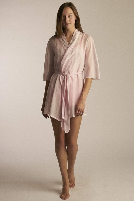Salua Lingerie Sheer Kimono Wrap