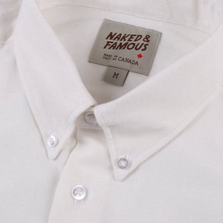 Naked & Famous Regular Shirt Classic Flannel