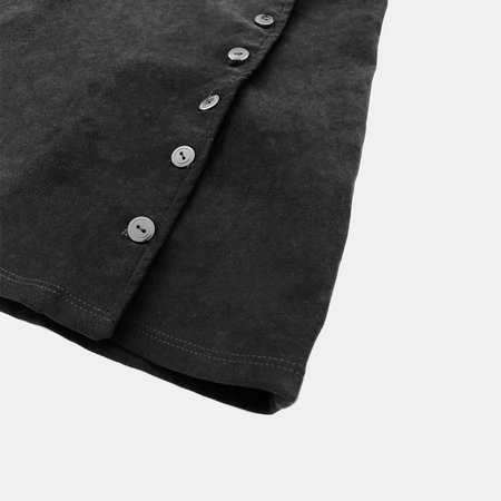 ALTER Suede Mini Skirt - BLACK
