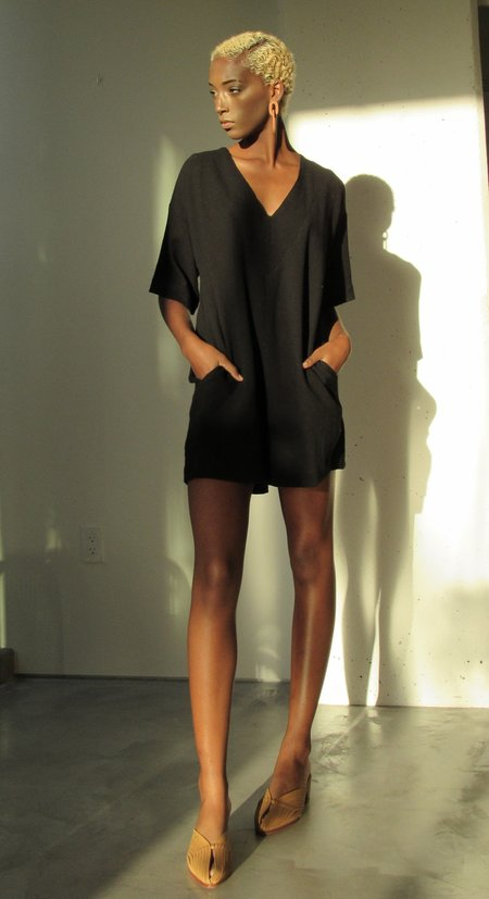 at Dawn. Half Sleeve Romper