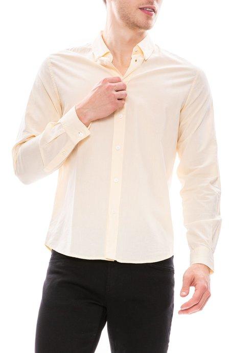 Editions M.R. Lightweight Button Down Shirt - Light Yellow
