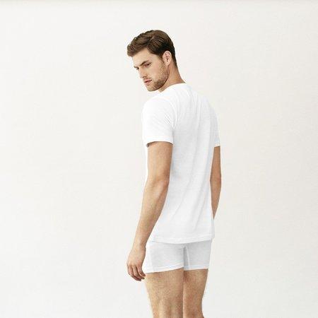 Handvaerk Crewneck Undershirt - White