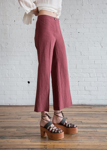 MASSCOB Bonny Pants - Plum