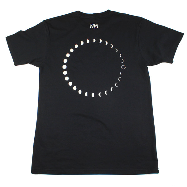 Men's Wolf & Man  Moon Phase T shirt
