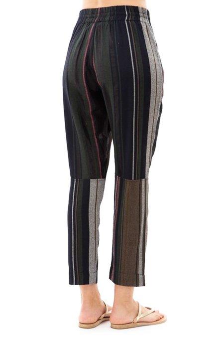 Apiece Apart Floris Casual Pant - Multi Stripe