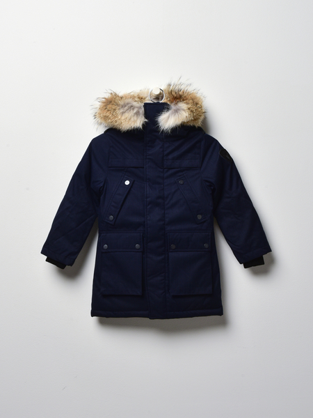 KIDS NOBIS LITTLE YATES JACKET - NAVY