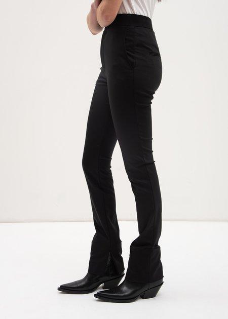 Helmut Lang Polished Legging Pants - Black