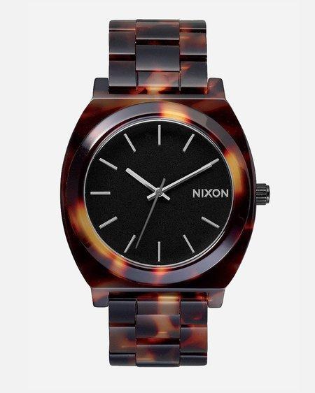 Nixon Time Teller Acetate Watch - Tortoise