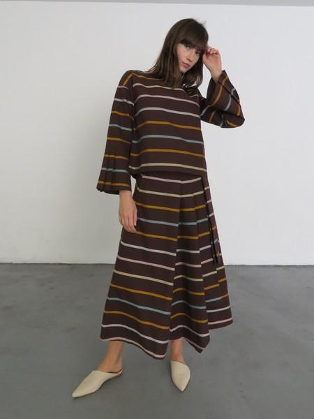 Kowtow Skylight Skirt - Landscape Stripe