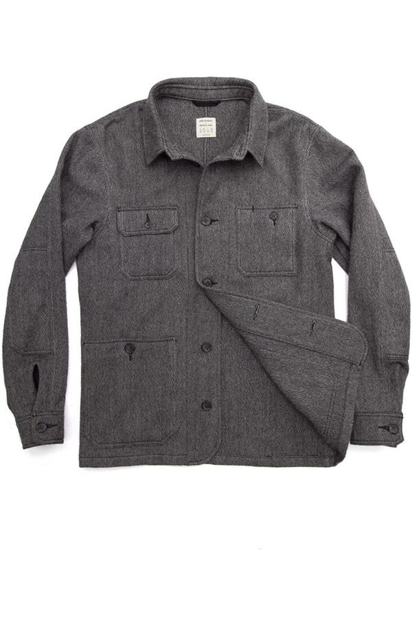 John Blasioli x Bridge & Burn Wool Overshirt