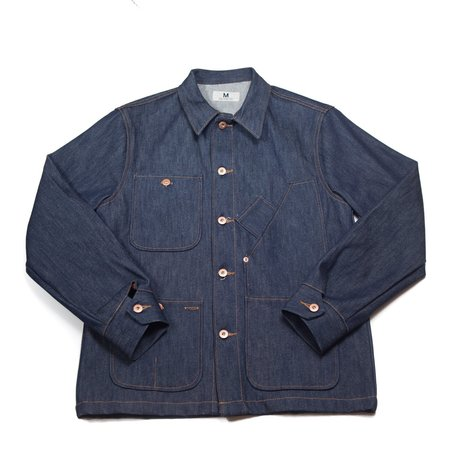 Tellason Coverall Jacket - Raw Blue