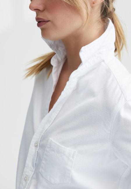Frank & Eileen Italian Moleskin Eileen shirt - White