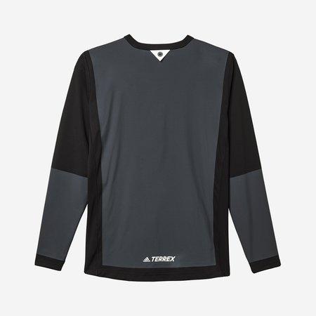 Adidas x White Mountaineering WM AGRAVIC BONDED LS - Black