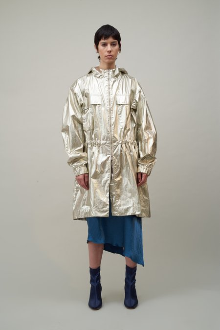 Nomia Fishtail Parka - Platinum