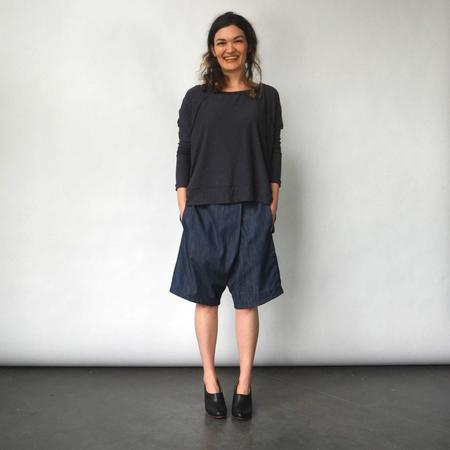 Lu. Bottom No. 1 Shorts - Chambray Union