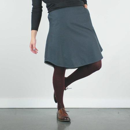 Atelier b. Cotton Skirt - Charcoal