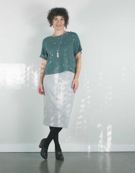 Pillar Euston Skirt - Grey